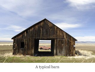 A typical barn